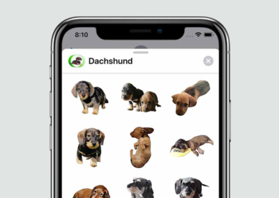 Dachshund Stickers